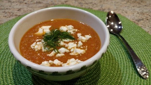 Tomato Fennel Bisque
